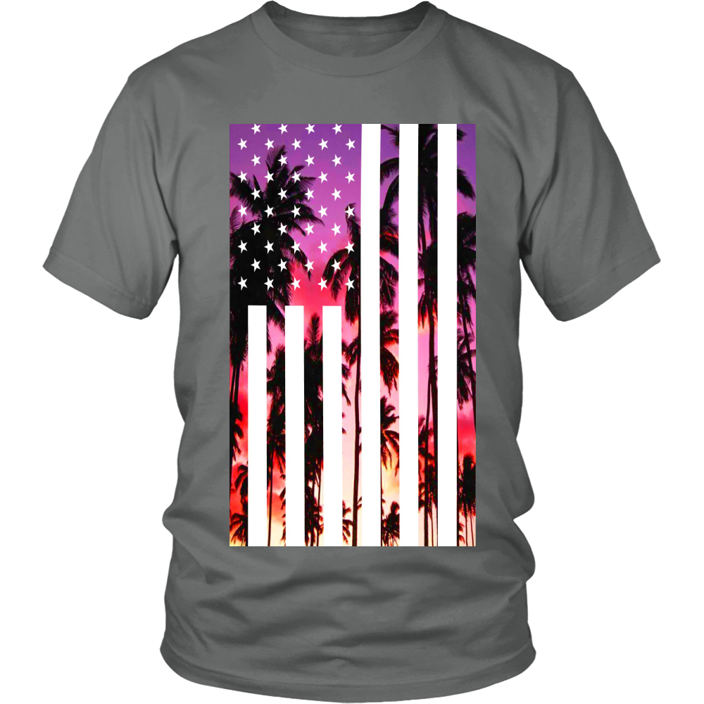 "Los Angeles ""Palm Tree U.S.A."" Shirt - Los Angeles Source  - 4"