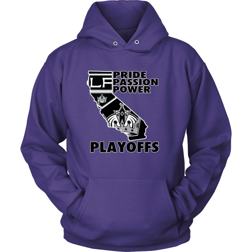 "LA Kings ""Playoff Time"" Hoodie - Los Angeles Source  - 3"