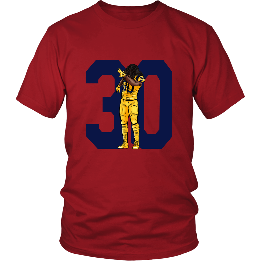 "Todd Gurley ""Dab On Em'"" Shirt - Los Angeles Source  - 8"