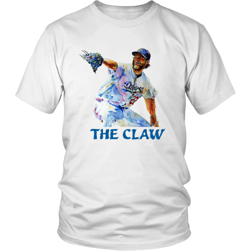 "Clayton Kershaw ""The Claw"" Shirt - Los Angeles Source  - 1"