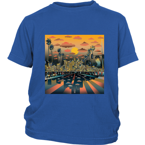 "Los Angeles ""Vibe"" Youth Shirt - Los Angeles Source  - 3"