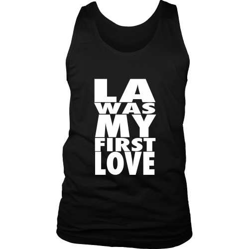 """LA Was My First Love"" Tank Top - Los Angeles Source  - 3"