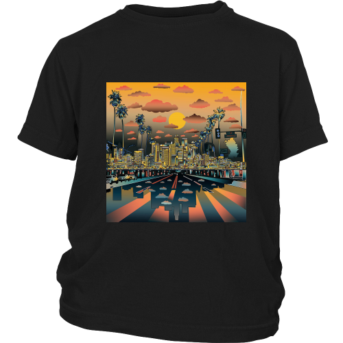 "Los Angeles ""Vibe"" Youth Shirt - Los Angeles Source  - 4"