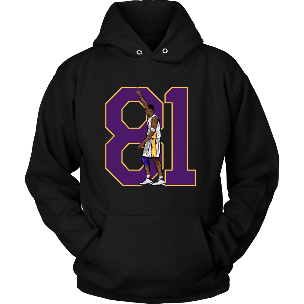 "Kobe Bryant ""81"" Hoodie - Los Angeles Source  - 2"