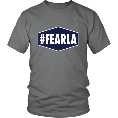 "Dodgers ""#FEARLA"" Shirt - Los Angeles Source  - 1"