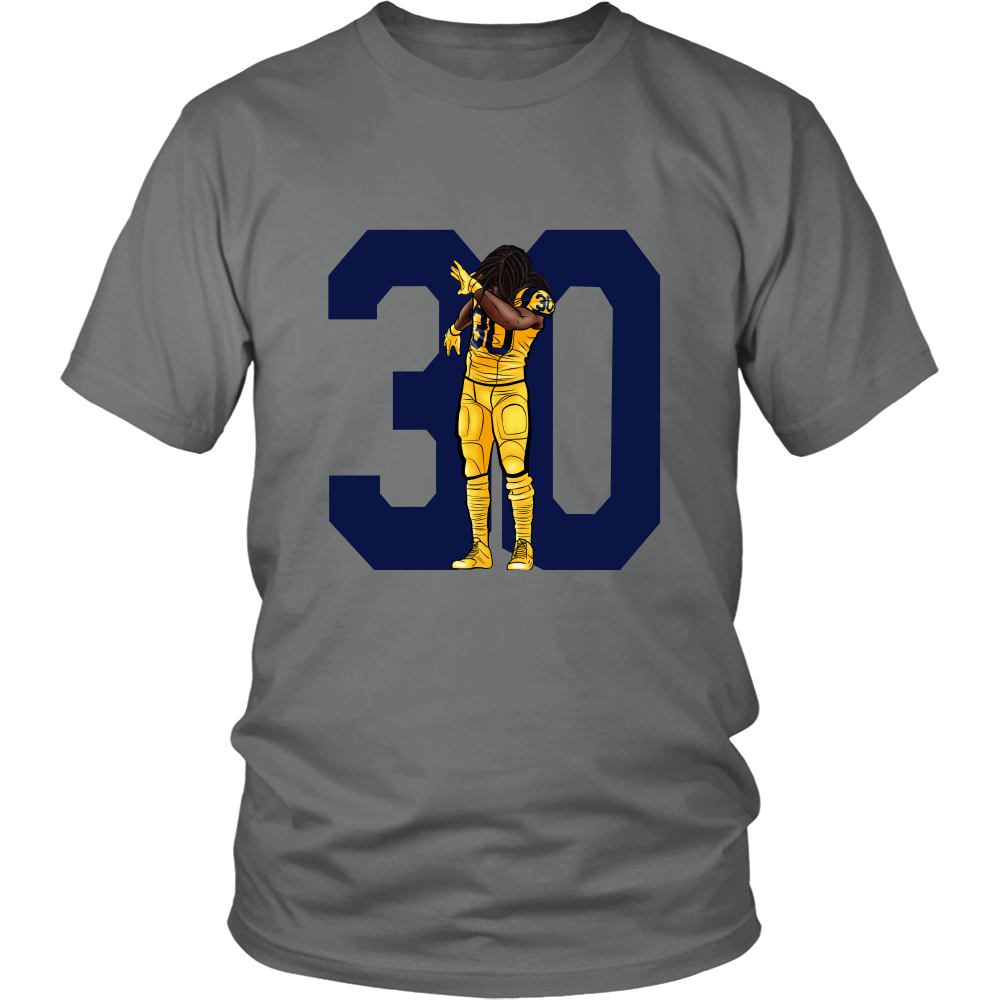 "Todd Gurley ""Dab On Em'"" Shirt - Los Angeles Source  - 1"