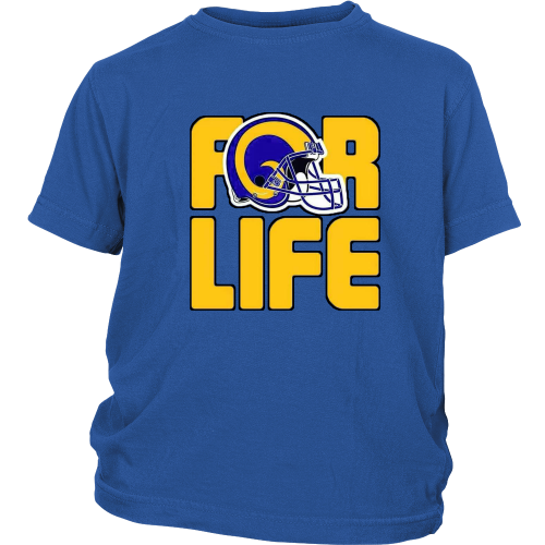 "LA Rams ""For Life"" Youth Shirt - Los Angeles Source  - 2"