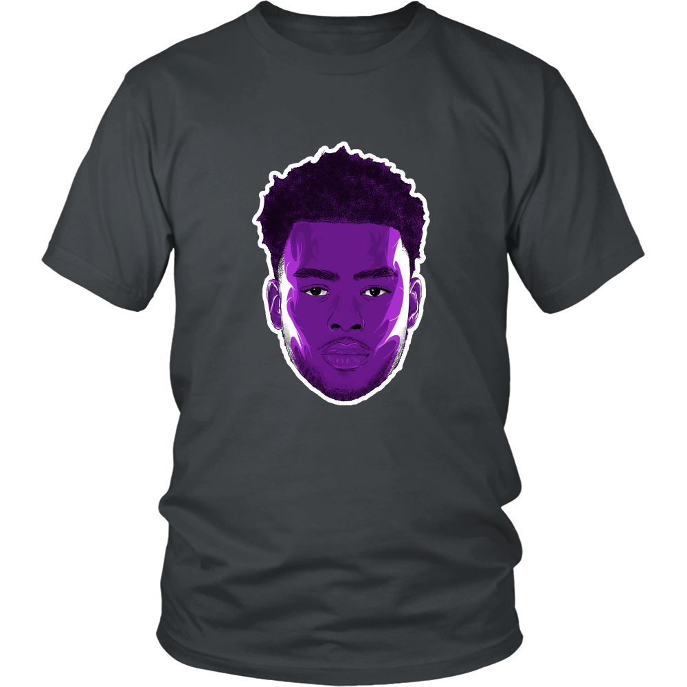 "D'Angelo Russell ""The Future"" Shirt - Los Angeles Source  - 6"