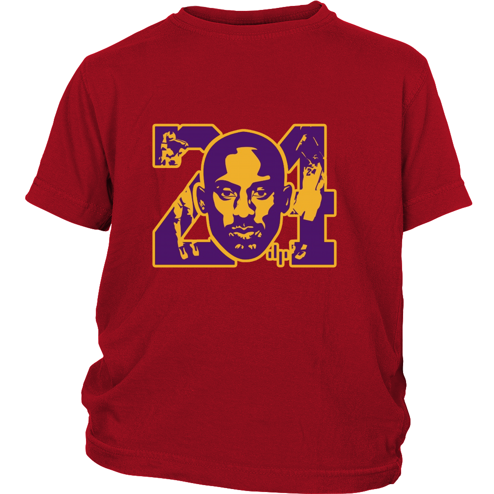 "Kobe Bryant ""KB24"" Youth Shirt - Los Angeles Source  - 3"