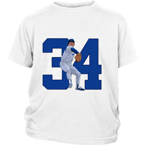 "Fernando Valenzuela ""El Torro"" Youth Shirt - Los Angeles Source  - 2"