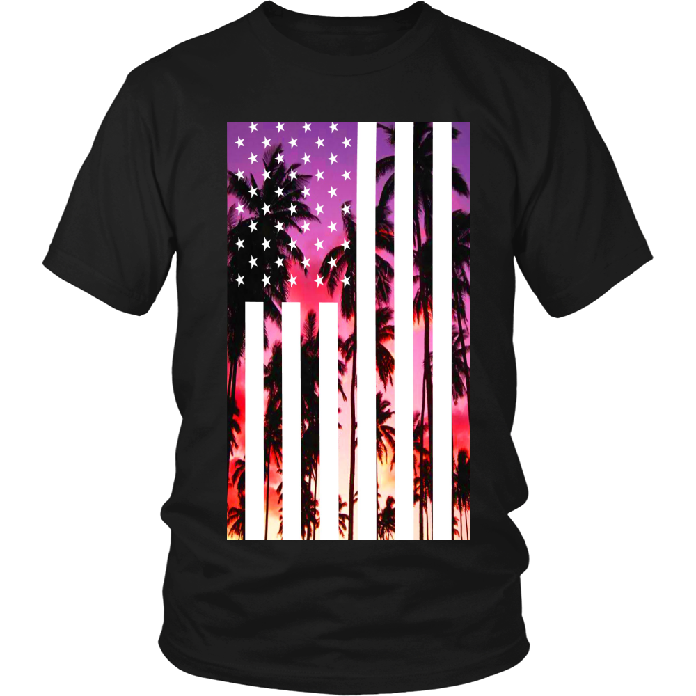 "Los Angeles ""Palm Tree U.S.A."" Shirt - Los Angeles Source  - 1"