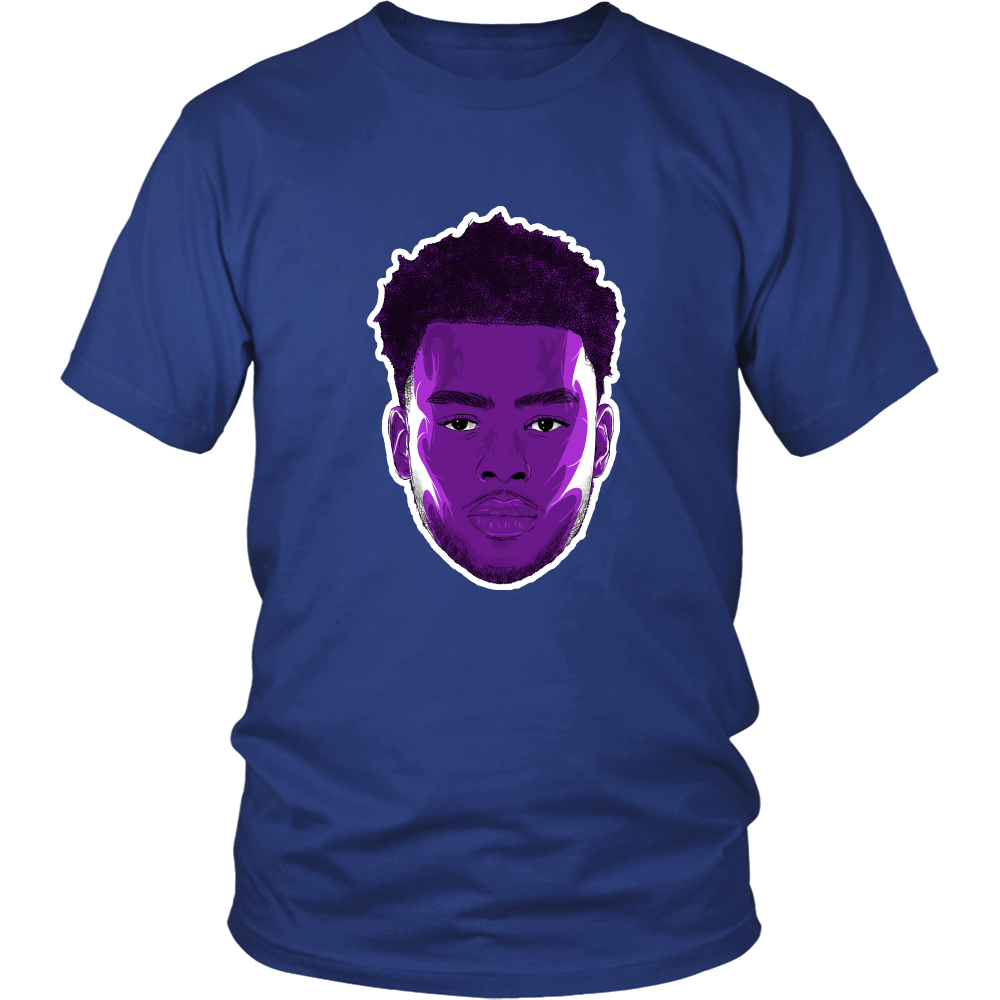 "D'Angelo Russell ""The Future"" Shirt - Los Angeles Source  - 3"