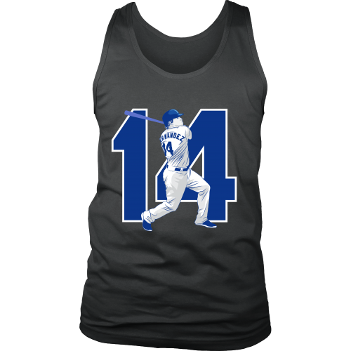"Enrique Hernandez ""Kike"" Tank Top - Los Angeles Source  - 2"