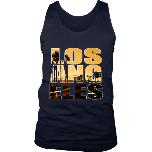 "Los Angeles ""Sunset"" Tank Top - Los Angeles Source  - 3"