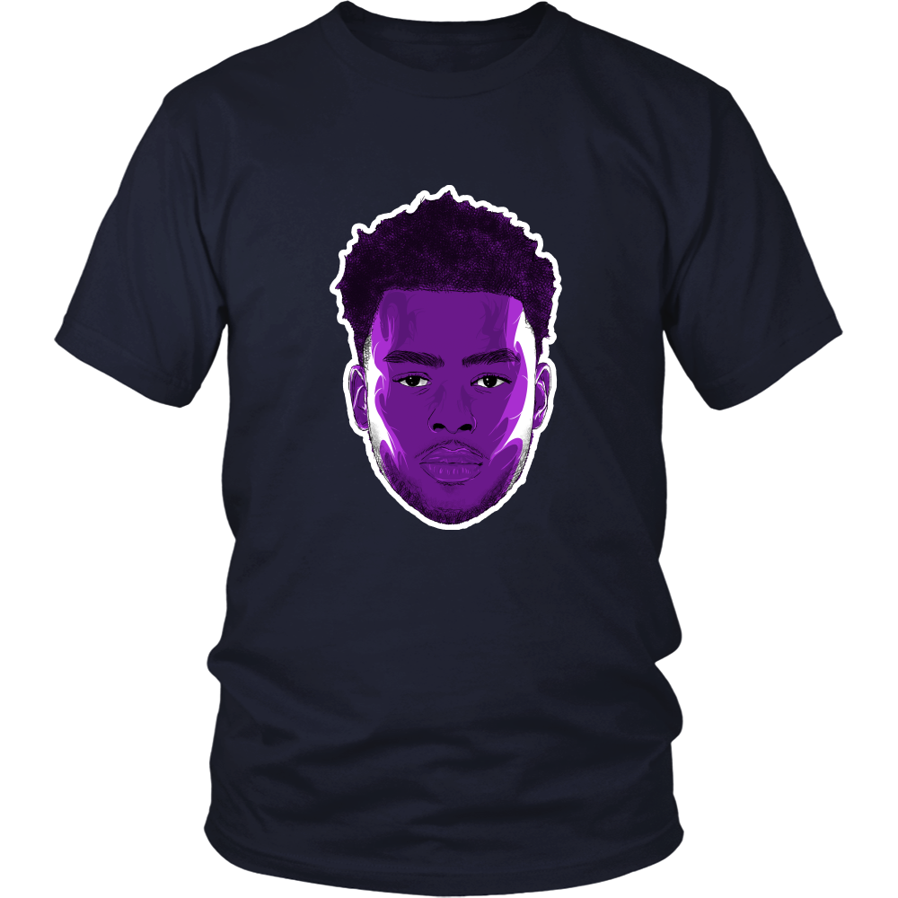 "D'Angelo Russell ""The Future"" Shirt - Los Angeles Source  - 5"