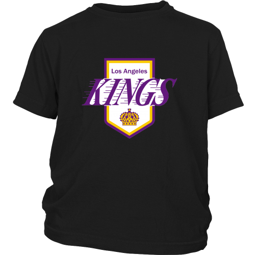 "LA Kings ""Classic 1972 Logo"" Youth Shirt - Los Angeles Source  - 3"