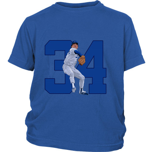 "Fernando Valenzuela ""El Torro"" Youth Shirt - Los Angeles Source  - 1"