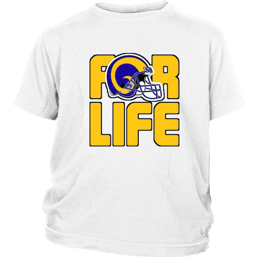 "LA Rams ""For Life"" Youth Shirt - Los Angeles Source  - 1"
