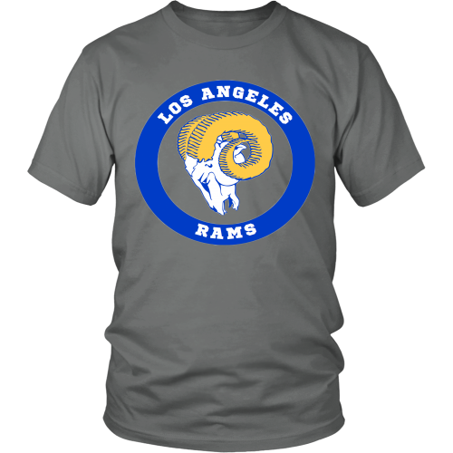 LA Rams Vintage Logo Shirt - Los Angeles Source  - 4