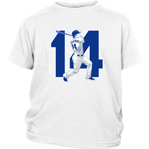 "Enrique Hernandez ""Kike"" Youth Shirt - Los Angeles Source  - 3"