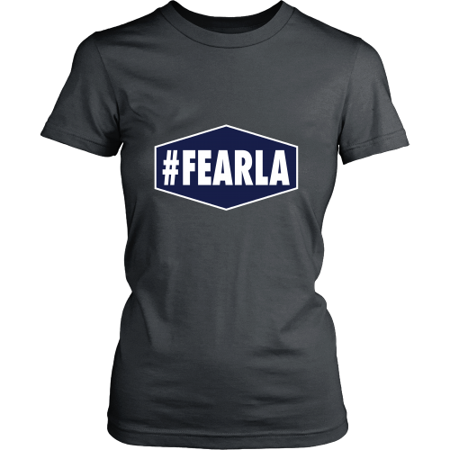 "Dodgers ""#FEARLA"" Women's Shirt - Los Angeles Source  - 6"