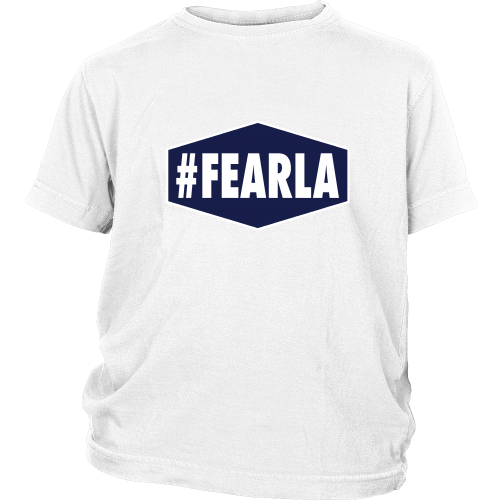 "Dodgers ""#FEARLA"" Youth Shirt - Los Angeles Source  - 2"