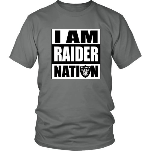 "Raiders ""I Am Raider Nation"" Shirt - Los Angeles Source  - 4"