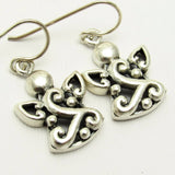 Sterling Angel Earrings