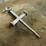Large Sterling Nail Cross James Avery Jewelry