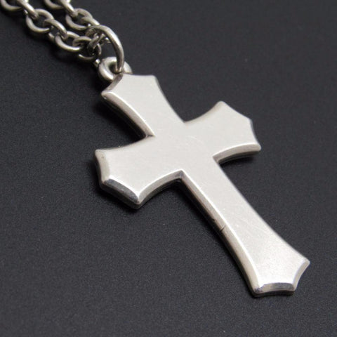 Beveled Clechee Cross Necklace Sterling James Avery