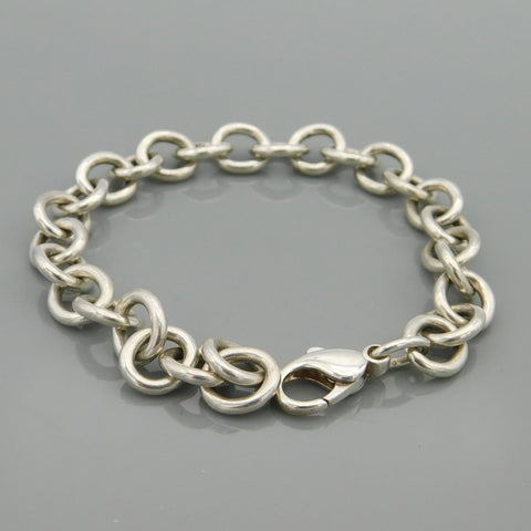 James Avery Sterling  Classic Cable Bracelet Size Large