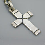 James Avery Latin Cross on Avery Curb Chain