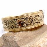 Victorian hinged bangle bracelet 1