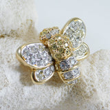 Crystal Bee Brooch Swarovski Jewelry