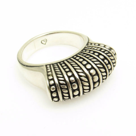 Brighton Sterling Sayan Ring Tall Ring
