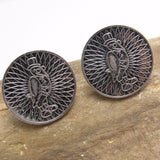 Old Crow Whiskey Cufflinks Kentucky Whiskies