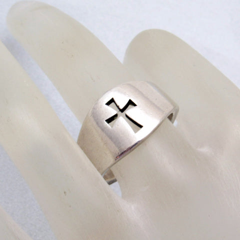James Avery Sterling Crosslet Ring