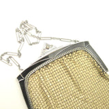 Yellow Art Deco Mesh Bag Roaring Twenties Antique Accessory