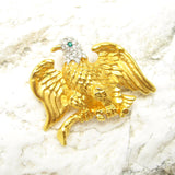 Rhinestone Eagle Brooch First Ladys Eagle Brooch Smithsonian Institute
