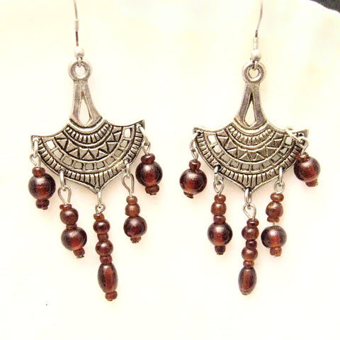 Egyptian Chandelier Earrings