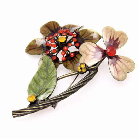 Large Flower Brooch Fall Jewelry