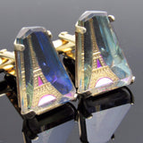 Eiffel Tower Cufflinks Vintage Swank Arts of the World