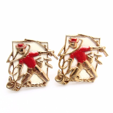 Fisherman Cufflinks Sports Themed Mens Anson Jewelry