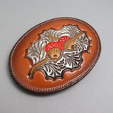 Vintage Leather Buckle Tony Lama Accessories