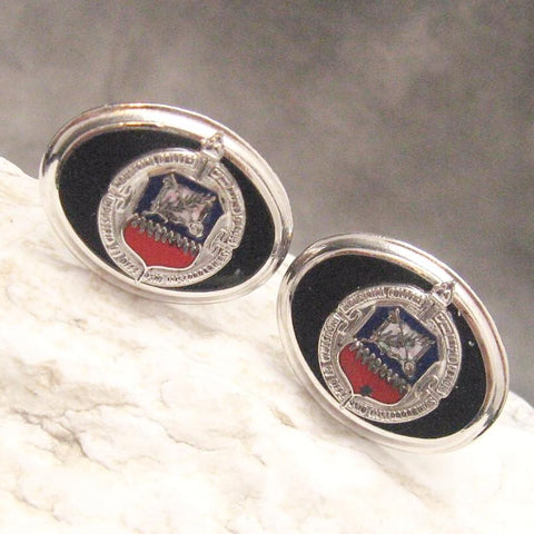 Vintage Cufflinks Industrial College of Armed Forces