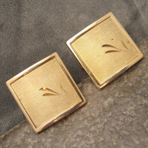 Vintage Cufflink Tie Tack Set Swank Mens Jewelry Accessories