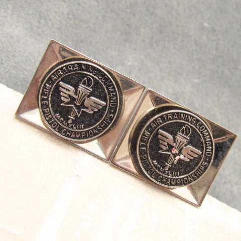 Rifle Championship Cufflinks Air Training Command 1948