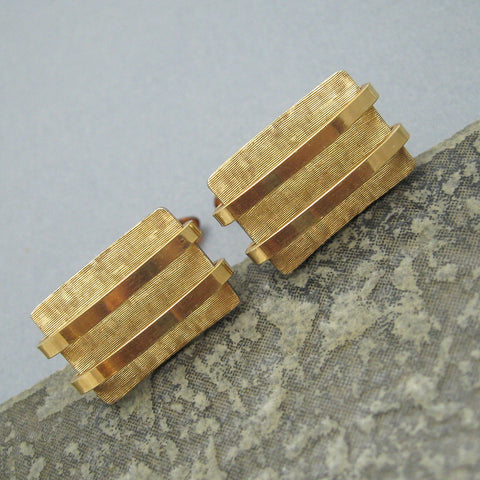 Vintage Krementz Gold Filled Cufflinks Mens Jewelry
