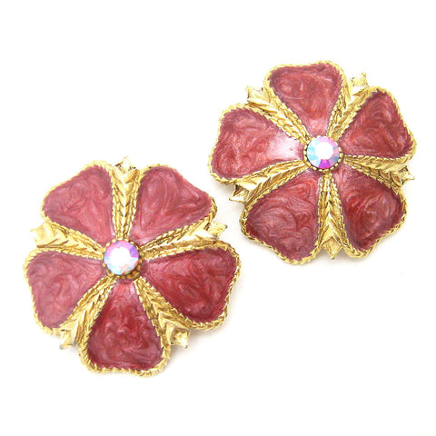 Flower Earrings Jay Strongwater Jewelry