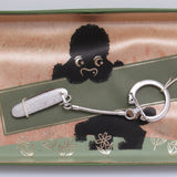 Vintage Keychain with Knife Anson Accessory in Original Box